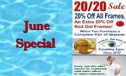 June 2020 Frame Sale